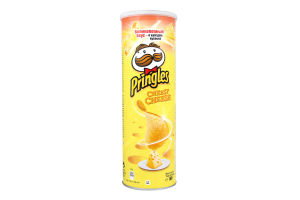 Чипсы картофельные со вкусом сыра Pringles к/у 165г