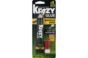 Krazy Glue Maximum Bond