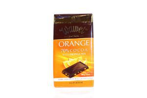 Шоколад Wawel чорний 70% Orange 100г х12