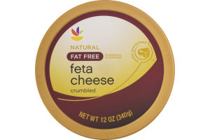 Ahold Feta Cheese Fat Free Crumbled