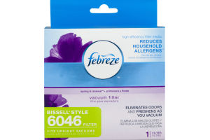 Febreze Vacuum Filter Bissell Style 6046
