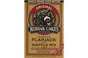 Kodiak Cakes Frontier Flapjack And Waffle Mix Original