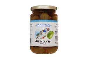 Оливки с косточкой Santorini Dreams с/б 314мл