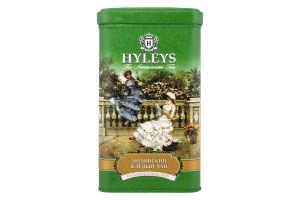 Чай зеленый крупнолистовой English green Hyleys ж/б 125г