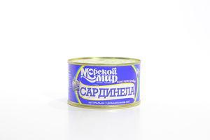 Сардинела натуральная с добавлением масла Морской Мир 240г