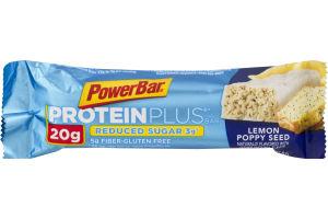 PowerBar ProteinPlus Lemon Poppy Seed Pound Cake