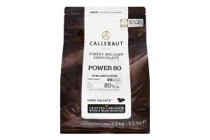 Шоколад 80% екстра темний Callebaut м/у 2.5кг