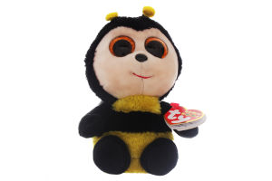 Іграшка м'яка №36849 Бджілка Buzby Beanie Boo's TY 1шт