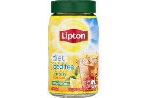 Lipton Diet Iced Tea Lemon Decaffeinated