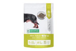 Корм сухой для собак Mini Adult Nature's Protection д/п 500г