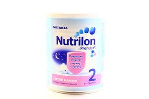 Смесь Сытый малыш 6-12 Nutrilon 400г