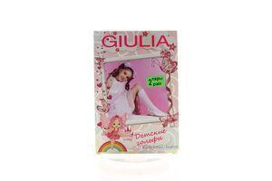 Гольфы детские Giulia Duffy №3 40den 18-20/20-22 bianco 2пары