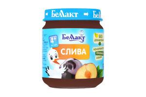 Пюре з слив для дитячого харчування 100г., Беллакт