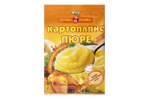 Пюре швидкого приготування картопляне з ароматом курки Велика ложка м/у 30г