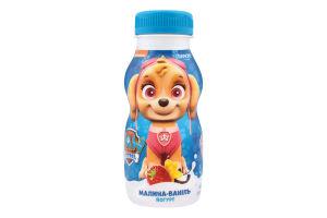 Йогурт 1.5% питний Малина-Ваніль Paw Patrol Danone п/пл 185г