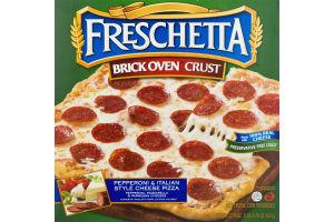 Freschetta Brick Oven Crust Pepperoni & Italian Style Cheese Pizza