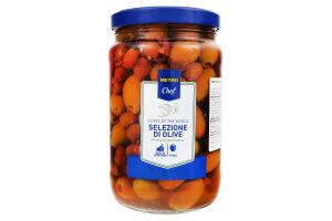 Оливки в розсолі Асорті Metro Chef с/б 1.65кг