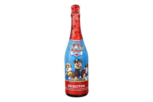Напій безалкогольний сильногазований Екзотик Paw Patrol с/пл 0.75л