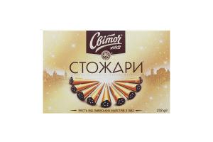 Цукерки в темному шоколаді Стожари Світоч к/у 232г