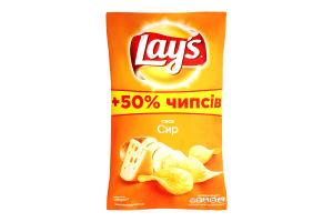 Чипсы со вкусом сыра Lay's м/у 200г
