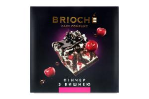 Торт Пінчер з вишнею Brioche к/у 0.55кг