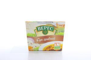 Суп быстрого приготовления грибной Верес к/у 350г