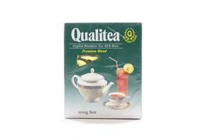 Чай черный мелколистовой English Breakfast Qualitea к/у 100г