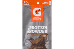 Gatorade Recover Whey Protein Powder Pack Chocolate