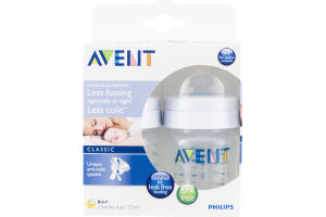 Philips Avent Bottle Classic 0m+ - 2 CT