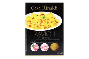 Паста яичная свежая с мясной начинкой Ravioli Casa Rinaldi к/у 250г