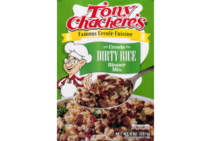 Tony Chachere's Creole Dinner Mix Dirty Rice