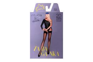 Панчохи Intuicia Zabaganka 20den 4-L чорні