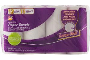 Ahold Premium Paper Towels - 12 CT