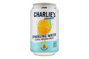 Вода минеральная Charlie's с соком лимона ж/б