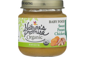 Nature's Promise Organic Baby Food Sweet Potato Chicken 6m+