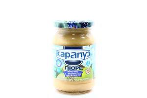 Пюре для детей от 4мес яблочное со сливками Неженка Карапуз с/б 200г