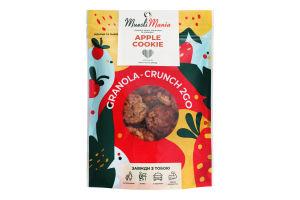 Гранола-кранч з яблуком та корицею Apple Cookie Muesli Mania д/п 90г