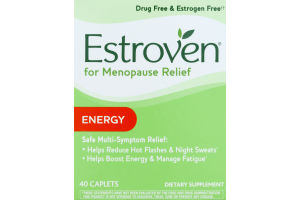 Estroven for Menopause Relief Energy - 40 CT