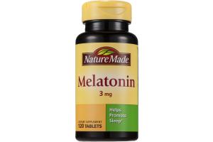 Nature Made Melatonin 3mg - 120 CT