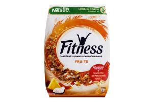 Пластівці з цільнозернової пшениці Fruits Fitness м/у 400г