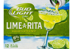 Bud Light Lime Lime-A-Rita - 12 PK