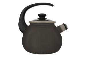 Чайник емальований 2.5л №27115/4 Металік Idilia 1шт