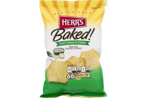 Herr's Baked! Potato Crisps Sour Cream & Onion