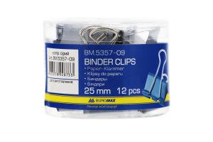 Биндеры 25мм BM.5357-09 Buromax 12шт