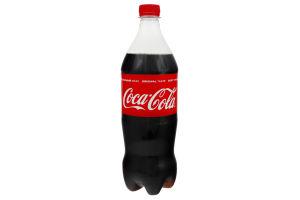 Напій безалкогольний сильногазований Coca-Cola п/пл 1л