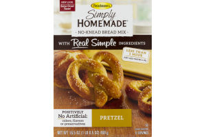 Fleischmann's Simply Homemade No-Knead Bread Mix Pretzel