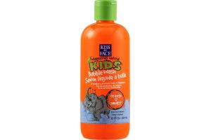 Kiss My Face Kids Bubble Wash Orange U Smart
