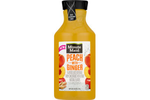 Minute Maid Peach With Ginger Juice Beverage