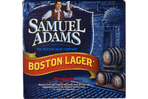 Samuel Adams Boston Lager - 12 CT
