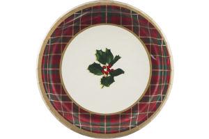Hallmark Party Plates Warm Traditions - 8 CT